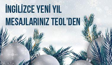 İngilizce Yeni Yıl Mesajlarınız TEOL'den